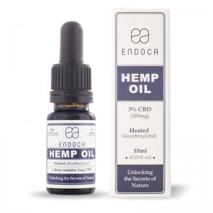 Olejek CBD ENDOCA 3% 10ml